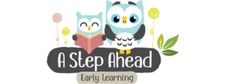 A Step Ahead Early Learning Logo